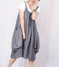 Sleeveless Bubble dress, layered tee