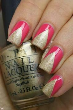 Gold/pink