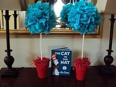 Thing 1 & 2 Topiaries