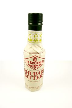 Best Fee Brothers Rhubarb Bitters Recipe on Pinterest