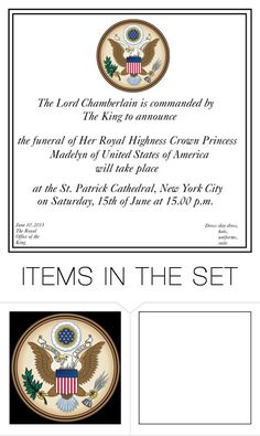 """""""Official funeral announcement"""" by madame-des-etats ❤ liked on Polyvore featuring art"""