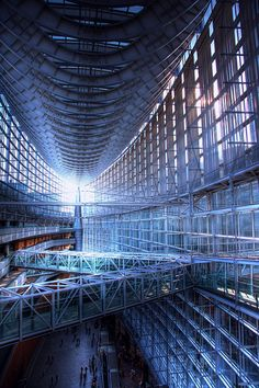 Tokyo International Forum, Japan: photo by down4th. More Terrible Future.
