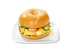 Spicy Smoked Salmon Bagelwiches from #FNMag