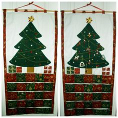 Advent calender with pockets