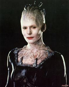 Alice Krige as the Borg Queen from Star Trek: First Contact