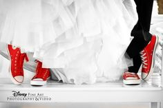 wedding converse - this makes me think of mitchell and katelynn!