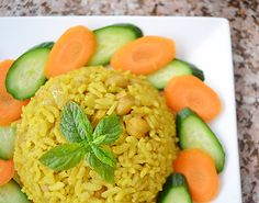 "Spicy chickpea rice ""kedreh"""