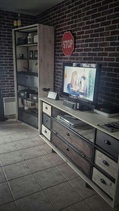 Étagère et meuble télé by Flowroomdesign