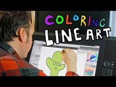 Digital artist, Aaron Rutten gives a quick demonstration of how a drawing tablet can be used to illustrate and color artwork on your computer. A more detaile...