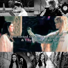 """""""I have turned the world upside down & I have done it all for you."""" - Labyrinth<3"""