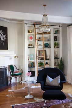 The most expensive iKea hack I've seem!  You simply need to buy Billy bookcases from iKea. Love it!