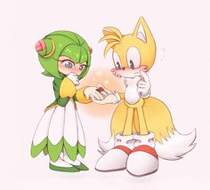 Cosmo x Tails