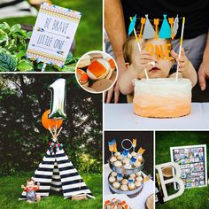 """""""Beau the Brave"""" First Birthday Party"""
