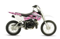 PINK..CAMO..DIRTBIKE!! I WANT THIS NOW!!!!!!!