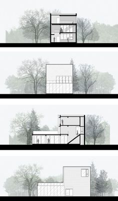 Gallery of TIT Creative Park / Atelier cnS - 24 - Baustil Architecture Concept Drawings, Architecture Panel, Architecture Visualization, Architecture Graphics, Architecture Details, Architecture Layout, Architecture Diagrams, Coupes Architecture, Photoshop