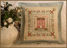 Image detail for -COUNTRY COTTAGE NEEDLEWORKS - Rose Cottage - LE COMPTOIR DES FEES