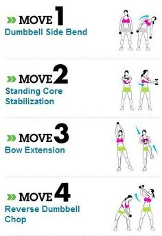 Great moves for the abs and core