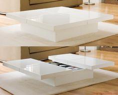 Metal Modern Coffee Table Design For 2014