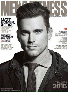 Matt para la revista Men's Fitness