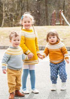 Gudrunkjole og gensere _Knitting Inna