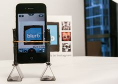 DIY iPhone tripod11 How to make a DIY iPhone tripod from office supplies - https://www.facebook.com/diplyofficial