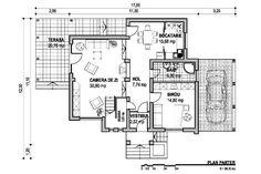 Imagini pentru proiect pe parter cu 3 dormitoare