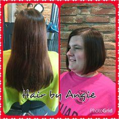 #hairbyangie  PhotoGrid