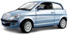 Bburago Bijoux Collezione - Silver Lancia Nuova Ypsilon (2003) Car Miniature 1:24 (18-22085)  Manufacturer: Bburago Barcode: 4893993220854 Enarxis Code: 015689 #toys #miniature #Bburago #Lancia #Ypsilon B & B, Video Games, Light Blue, Miniatures, More, Vehicles, Silver, Videogames, Video Game