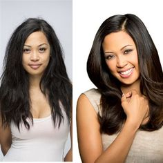 Stylists, your client has gone from frizzy, lack-luster locks to smooth, healthy-looking tresses with the help of Kenra Smooth®. Don't let the service end there. Kenra Smooth allows you to do a full color service in the same salon visit. Follow the link to get our Kenra Smooth model's gorgeous Kenra Color® formula via BehindTheChair.com.