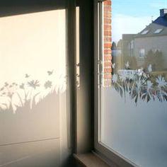 raamdecoratie , privacy creëren op verschillende manieren