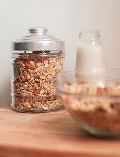 granola casera mediterranea