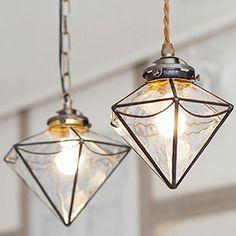 Geometric Lamp, Stained Glass Light, Antique Keys, Glass Terrarium, Candle Lanterns, Mosaic Glass, Modern Lighting, Lamp Light, Ceiling Lights