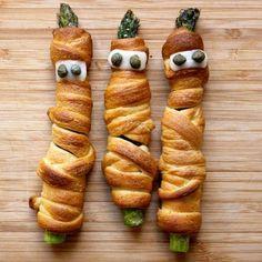 Crescent Mummy Asparagus-- baha!
