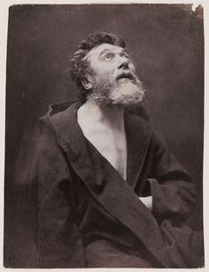 "Gaspard Félix Tournachon Nadar (French, 1820–1910), ""The Apostle Preacher Jean Journet,"" 1857.  Photograph, salt print."