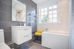 4 bedroom detached house for sale in Sudbury Road, Bures, Suffolk - Rightmove. Sale On, Colour Schemes, Detached House, Property For Sale, House Ideas, Bathtub, Lights, Bathroom, Standing Bath