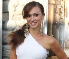 Karina Smirnoffs long ponytail