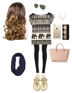"""""""Day in"""" by sof-free03 ❤ liked on Polyvore featuring beauty, NIKE, Calypso St. Barth, Tory Burch, Ray-Ban, Stila, Panacea, Lipsy and L.K.Bennett"""