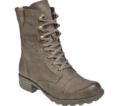 Cobb Hill Bethany Boot - Stone Full Grain Leather with FREE Shipping & Exchanges. This boot features a full grain vintage leather upper with zipper closures, textile linings, a