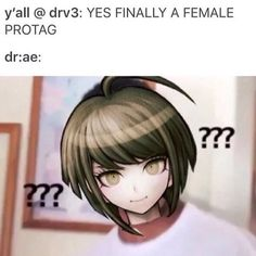 It's even more funny because in the end Saihara was the main character cause Kadae was executed lol