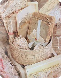 Bundles of Old Paper