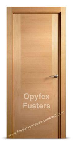 Oferta en puertas de madera maciza para interior en - Puertas madera barcelona ...