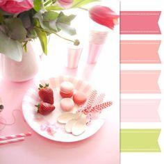 Pretty Palette: Pink Tablescape