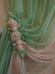 18 Trendy DIY Bedroom Vintage Curtains - Chicken One - # ., 18 Trendy DIY Bedroom Vintage Curtains - Chicken One - Romantic Shabby Chic, Camas Shabby Chic, Rideaux Shabby Chic, Shabby Chic Office, Shabby Chic Homes, Shabby Chic Decor, Romantic Cottage, Bedroom Romantic, Romantic Roses