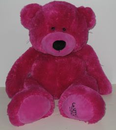 Who knew La Senza made teddy bears? This one is from 2010, is purple and is soft. #lasenza #teddybears