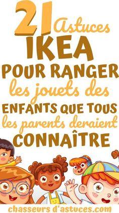 21 Astuces Ikea Pour Ranger Les Jouets Des Enfants Que Tous Les Parents Devraient Connaître. Voici une liste de 21 solutions de rangement géniales pour les jouets IKEA de vos enfants. Ces solutions de rangement pour jouets IKEA vous aideront à vous organiser avec un budget limité. Je ne sais pas pour vous, mais ma maison est envahie par des jouets ! 21 Astuces Ikea Pour Ranger Les Jouets Des Enfants Que Tous Les Parents Devraient Connaître. #chasseurdastuces Konmari, Peaceful Parenting, Kids And Parenting, Flylady, Inside Home, Attachment Parenting, Tidy Up, Ikea Hack, Children's Place