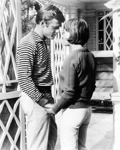 Robert Redford and Natalie Wood in a shot from Inside Daisy Clover.