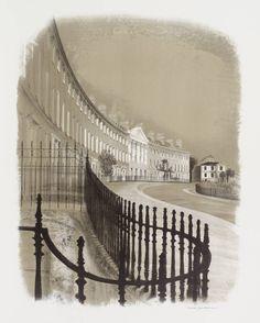 David Gentleman 'Camden Crescent', 1975 © David Gentleman