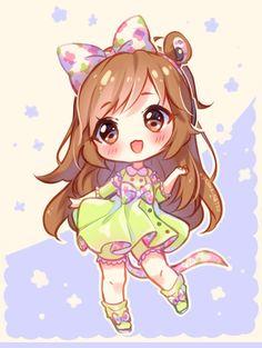 [+Video] Commission - Bunbun Chibi by Hyanna-Natsu on DeviantArt Chibi Bunny, Chibi Kawaii, Manga Kawaii, Arte Do Kawaii, Cute Anime Chibi, Kawaii Art, Kawaii Anime Girl, Anime Art Girl, Manga Girl