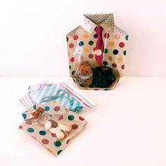 """「ちょっと」したプレゼントやおすそわけのラッピング。「ちょっと」したホームパーティ。日々の暮らしの中にある「ちょっと」特別な日。そんなとき""""Chotto""""のひと工夫が、オモテナシの気持ちを伝えます。 Cute Gifts, Best Gifts, Gift Packaging, Gift Bags, Fathers Day, Favors, Wraps, Gift Wrapping, Candy"""