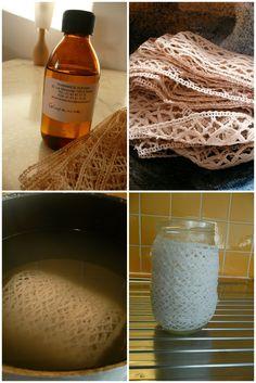 Pour les chineurs, comment laver une dentelle ancienne